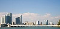 Miami Skyline, Miami, Florida, USA Fine-Art Print