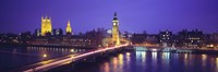 England, London, Parliament, Big Ben Fine-Art Print