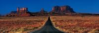 Route 163, Monument Valley Tribal Park, Arizona, USA Fine-Art Print