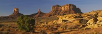 Rock Formations, Monument Valley, Arizona, USA (day, horizontal) Fine-Art Print