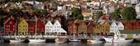 Harbor in Bergen, Norway Fine-Art Print