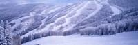 Mountains, Snow, Steamboat Springs, Colorado, USA Fine-Art Print