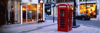 Phone Booth, London, England, United Kingdom Fine-Art Print