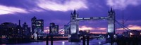 Tower Bridge, Landmark, London, England, United Kingdom Fine-Art Print