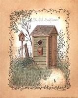 Old Backhouse Fine-Art Print