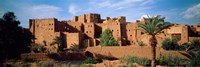 Buildings in a village, Ait Benhaddou, Ouarzazate, Marrakesh, Morocco Fine-Art Print