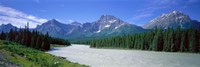 Rocky Mountains Near Jasper, Alberta Canada Fine-Art Print