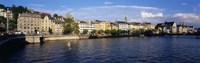 Switzerland, Zurich, Limmat River Fine-Art Print
