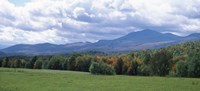 Clouds over a grassland, Mt Mansfield, Vermont, USA Fine-Art Print