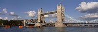 Bridge Over A River, Tower Bridge, Thames River, London, England, United Kingdom Fine-Art Print