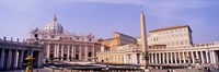 Vatican, St Peters Square, Rome, Italy Fine-Art Print