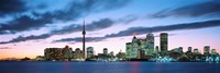 Toronto Skyline from the lake, Ontario Canada Fine-Art Print