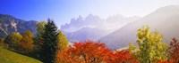 Dolomites Alps in spring, Italy Fine-Art Print