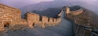 High angle view of the Great Wall Of China, Mutianyu, China Fine-Art Print