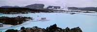 People In The Hot Spring, Blue Lagoon, Reykjavik, Iceland Fine-Art Print