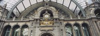 Low angle view of a building, Antwerp, Belgium Fine-Art Print