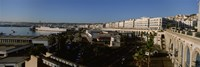 High angle view of a city, Algiers, Algeria Fine-Art Print