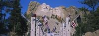 Statues on a mountain, Mt Rushmore, Mt Rushmore National Memorial, South Dakota, USA Fine-Art Print