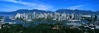 Aerial view of a cityscape, Vancouver, British Columbia, Canada 2011 Fine-Art Print