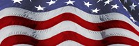 Close-up of an American flag Fine-Art Print