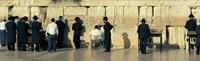 People praying at Wailing Wall, Jerusalem, Israel Fine-Art Print