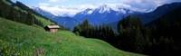 Austria, Zillertaler, cabin Fine-Art Print