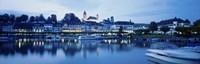 Switzerland, Rapperswil, Lake Zurich Fine-Art Print