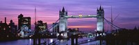 England, London, Tower Bridge Fine-Art Print