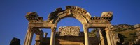 Turkey, Ephesus, temple ruins Fine-Art Print