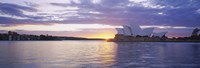 Sunset over Sydney Opera House Fine-Art Print