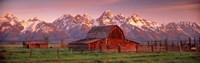 Barn Grand Teton National Park WY USA Fine-Art Print