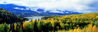 Panoramic View Of A Landscape, Yukon River, Alaska, USA, Fine-Art Print