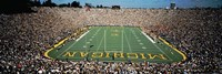University Of Michigan Stadium, Ann Arbor, Michigan, USA Fine-Art Print