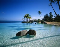 Resort Tahiti French Polynesia Fine-Art Print