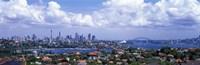 Cityscape, Harbor, Sydney, Australia Fine-Art Print