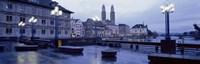 Evening, Zurich, Switzerland Fine-Art Print