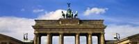 High section view of a memorial gate, Brandenburg Gate, Berlin, Germany Fine-Art Print