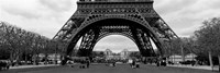 Low section view of a tower, Eiffel Tower, Paris, France Fine-Art Print