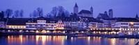 Evening, Lake Zurich, Rapperswil, Switzerland Fine-Art Print