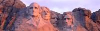 Mount Rushmore, South Dakota (red hue) Fine-Art Print