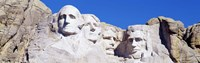 Mount Rushmore, South Dakota (white) Fine-Art Print