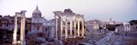 Roman Forum at dusk, Rome, Italy Fine-Art Print