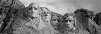 Mount Rushmore (Black And White) Fine-Art Print
