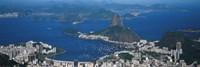 Aerial View Of A City, Rio De Janeiro, Brazil Fine-Art Print