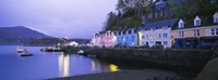 Buildings On The Waterfront, Portree, Isle Of Skye, Scotland, United Kingdom Fine-Art Print