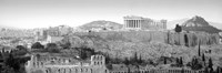 High Angle View Of Buildings In A City, Parthenon, Acropolis, Athens, Greece Fine-Art Print
