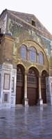 Mosaic facade of a mosque, Umayyad Mosque, Damascus, Syria Fine-Art Print