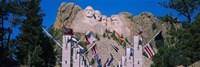 Statues on a mountain, Mt Rushmore, Mt Rushmore National Memorial, South Dakota, USA Fine-Art Print