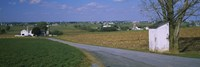 Road through Amish Farms, Pennsylvania Fine-Art Print