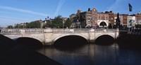 O'Connell Bridge in Republic of Ireland Fine-Art Print